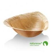 25 Trigon Schalen aus Palmblatt 18x17x5.5cm