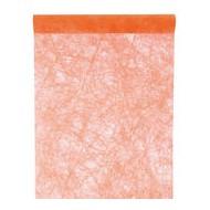 Chemin de table fanon, orange, 30 cm x 5 mètres