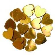 Konfettiherz Gold 18 gr.