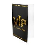 Carte VIP noir , sachet de 10 pièces