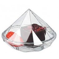 Verrine diamant transparent, 13 x 70 mm, 20 ml