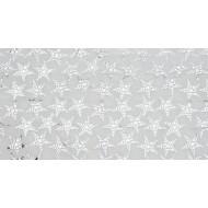 Nappe étoiles métallisée