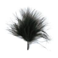 20 Federn, schwarz, 7 cm
