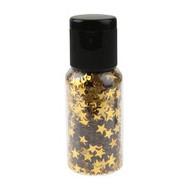 Paillettes étoile en tube, or, tube de 15 gr.
