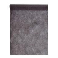 Chemin de table intissé, uni, 0.30 x 10 m, noir
