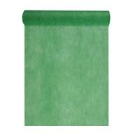 Chemin de table intissé, uni, 0.30 x 10 m, vert sapin