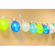 Guirlande support pour 24 ballons , 8 mètres
