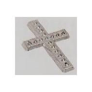 Motif croix, 10 pièces, argent