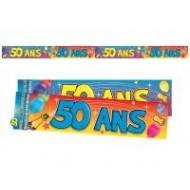 Bannière 50 ans