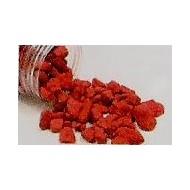 Steine, rot, 400 Gramm