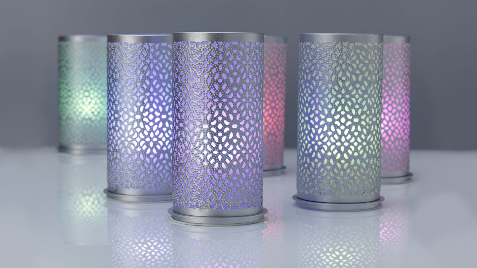 Kerzenhalter kompatibel LED-Glühbirnen