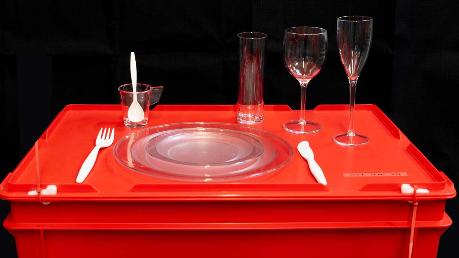 Verkauf von wiederverwendbaren Geschirr-Sets
