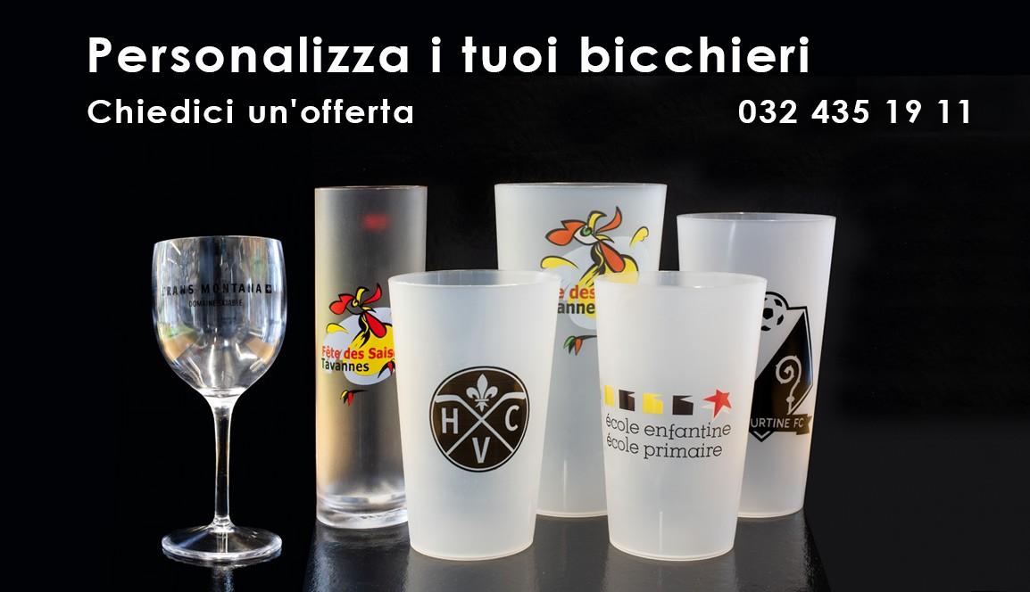 Personalizza i tuoi bicchieri
