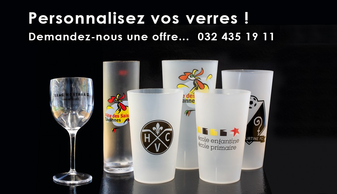 Personnalisez vos verres