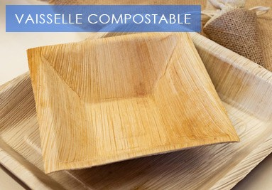 Vaisselle compostable