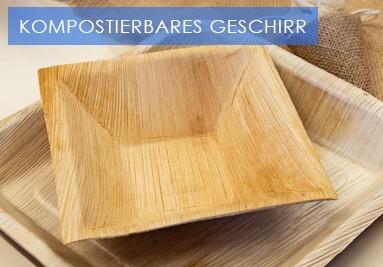 KOMPOSTIERBARES GESCHIRR